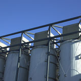 Large white vats Stock Image