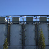 Large white vats Royalty Free Stock Images