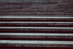 Large and Wide Monument Stairs stock image