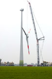 Large wind turbine Stock Photography