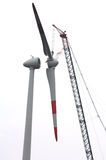 Large wind turbine Royalty Free Stock Photography