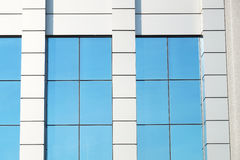 Large window of industrial building close up Royalty Free Stock Photo