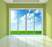 Large window Royalty Free Stock Photo