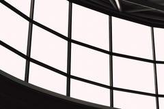 Large windows panel or multiple display screen frame royalty free illustration
