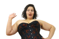 Large woman Royalty Free Stock Photos