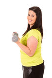 Large Woman Stock Image