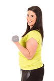 Large Woman Stock Photography