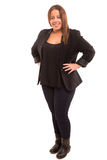 Large woman Royalty Free Stock Images