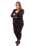 Large woman Stock Photo