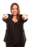 Large Woman Stock Image