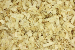 Large wood chips  background Royalty Free Stock Images