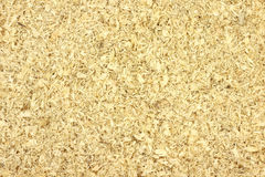 Large wood sawdust  background Stock Photo