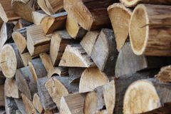 Large wood store Royalty Free Stock Images