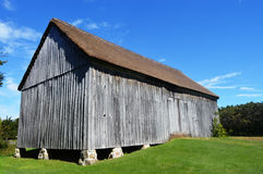 Large Wooden Barn stock photos
