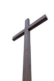A large wooden cross Royalty Free Stock Images