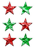 Large X-Mas Stars Royalty Free Stock Image