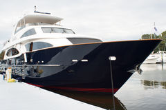 Large yacht Stock Images