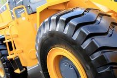 Large yellow bulldozer Royalty Free Stock Photos