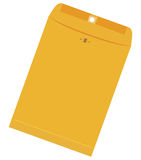 Large yellow envelope Royalty Free Stock Photography