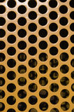 Large Yellow hole pattern vertical Stock Image