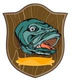Largemouth Bass. Vector art of a Largemouth Bass vector illustration
