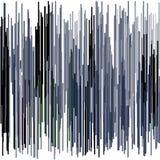 Larges courses abstraites bleues et noires Photos stock