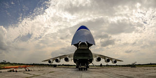 The largest aircraft Royalty Free Stock Image