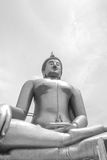 The largest Buddha in the world. Royalty Free Stock Photo