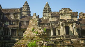 Largest Buddhist temple complex in the world - Angkor Wat stock footage