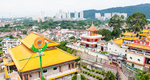 The largest Buddhist temple in South East Asia royalty free stock photography