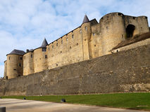 Wall. The largest castle in europe Stock Photo
