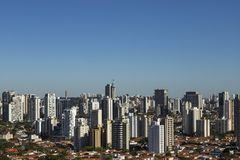 Largest cities in the world. City of Sao Paulo, Brazil. royalty free stock image
