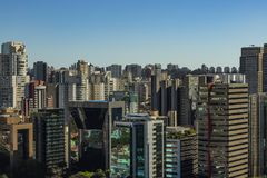 Largest cities in the world. City of Sao Paulo, Brazil. Largest cities in the world. City of Sao Paulo, Brazil South America royalty free stock photos