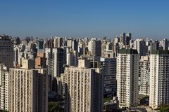Largest cities in the world. City of Sao Paulo, Brazil. Largest cities in the world. City of Sao Paulo, Brazil South America royalty free stock photo