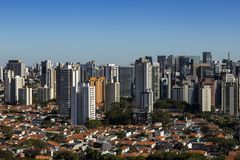 Largest cities in the world. City of Sao Paulo, Brazil. Largest cities in the world. City of Sao Paulo, Brazil South America royalty free stock images