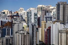Largest cities in the world. City of Sao Paulo, Brazil. Largest cities in the world. City of Sao Paulo, Brazil South America stock images