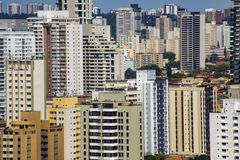 Largest cities in the world. City of Sao Paulo, Brazil. Largest cities in the world. City of Sao Paulo, Brazil South America royalty free stock photography
