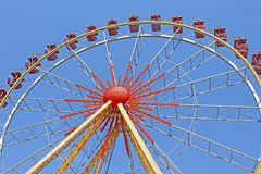 Largest ferris wheel in Ukraine. Odessa Royalty Free Stock Photo