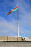 The largest flag in the world. In Baku, Azerbaijan Royalty Free Stock Photos