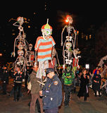 The largest Halloween Parade Royalty Free Stock Photo