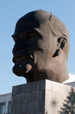 Largest head of Vladimir Lenin Stock Photos