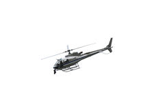 largest helicopter flying in the sky with the camera for TV top Royalty Free Stock Images