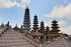 Largest Hindu temple Pura Besakih on Bali Stock Photography
