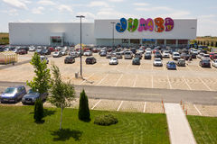 The largest kids' store Bourgas, Bulgaria Royalty Free Stock Image