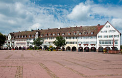 The largest market place in Germany, Freudenstadt Stock Photos