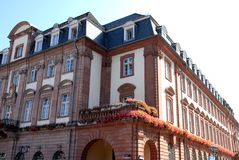 Largest and most important building in Heidelberg, Germany Royalty Free Stock Photography