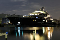 Symphony Largest private build ship in The netherlands Stock Images