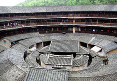 The largest Storied Building of Fujian Royalty Free Stock Photography