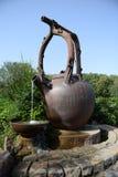 Largest tea pot. The largest tea pot in China. Photo taken in Tianmu lake resort royalty free stock images