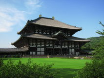 Largest Temple in Japan Royalty Free Stock Photos